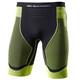 X-Bionic Effektor Power Hardloop Shorts Heren geel/zwart